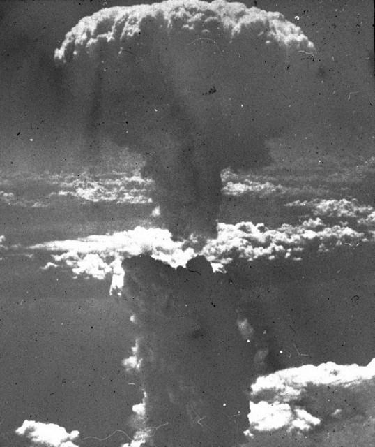 Strahlung Atombombe